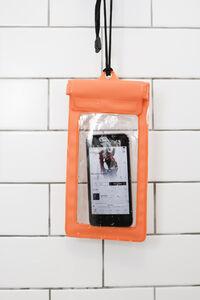 Idee regalo Custodia smartphone Waterproof Sleeve Arancione Trading Group 4
