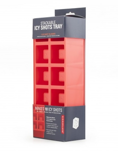 Idee regalo Stampo per ghiaccio Ice Shots. Stackable Ice Trays Trading Group 0