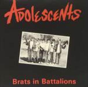 Brats in Battalions - Vinile LP di Adolescents