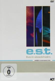 Esbjorn Svensson. Esbjorn Svensson Trio. Live in Stockholm - DVD