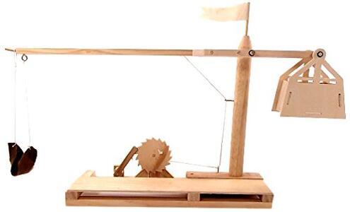 Leonardo da Vinci. Trebuchet