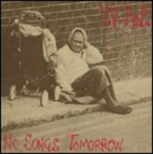 No Songs Tomorrow - Vinile LP di UV Pop
