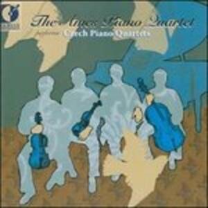 The Ames Piano Quartet Performs Czech Piano Quartets - CD Audio di Josef Suk