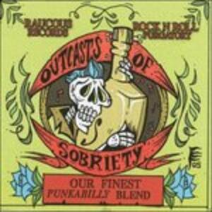 Outcasts of Sobriety - CD Audio