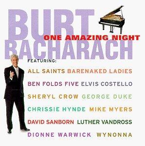 One Amazing Night - CD Audio di Burt Bacharach
