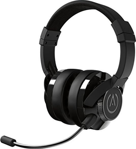 PowerA Fusion Cuffie da Gioco Cablate con Microfono Staccabile Compatibili con PlayStation 4, Xbox (One, One X, One S, 360), Nintendo Switch, Mac, Android, IOS, Nero