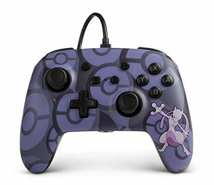 PowerA NSW EnWired Controller Mewtwo - Nintendo Switch