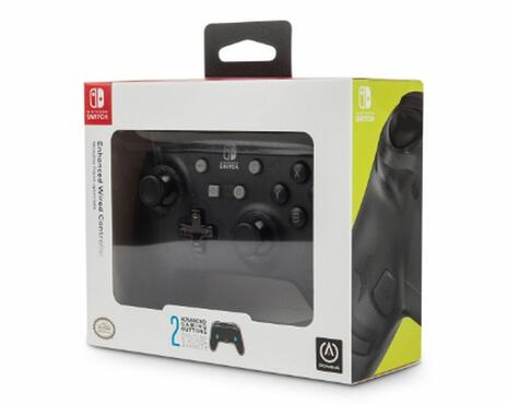 PowerA Black Frost Gamepad Nintendo Switch Analogico/Digitale USB Nero - 3
