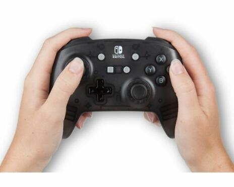 PowerA Black Frost Gamepad Nintendo Switch Analogico/Digitale USB Nero - 4