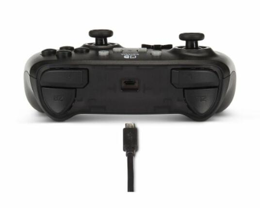 PowerA Black Frost Gamepad Nintendo Switch Analogico/Digitale USB Nero - 7