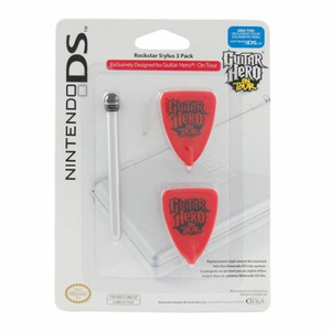 Videogioco NDS lite Guitar Hero stylus pack Nintendo DS