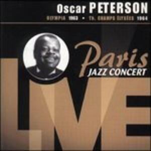 Paris Jazz Concert - CD Audio di Oscar Peterson