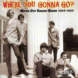 Where You Gonna go - CD Audio