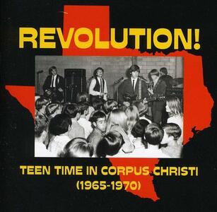 Revolution - Teen Time - CD Audio