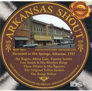 Arkansas Shout - CD Audio