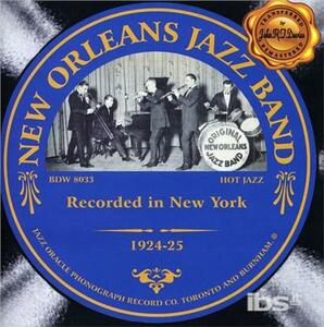 Recorded in New York - CD Audio di New Orleans Jazz Band