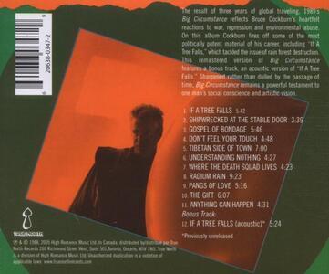 Big Circumstances (+ Bonus Tracks) - CD Audio di Bruce Cockburn - 2