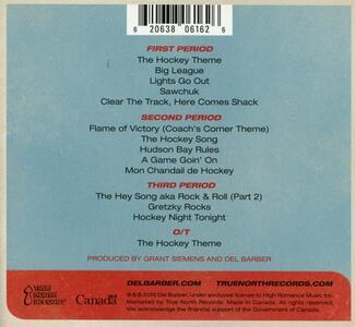 The Puck Drops Here - CD Audio di Del Barber,No Regretzkys - 2