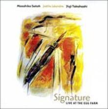 Signature. Live Egg Farm - CD Audio di Joelle Leandre,Masahiko Sato,Yuji Takahashi