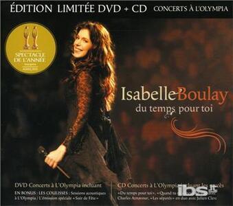 Du Temps A Toi -Live A.. - CD Audio di Isabelle Boulay