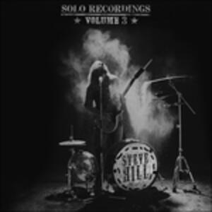 Solo Recordings 3 - CD Audio di Steve Hill
