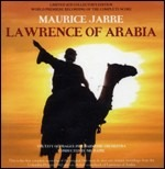 Cover CD Colonna sonora Lawrence d'Arabia