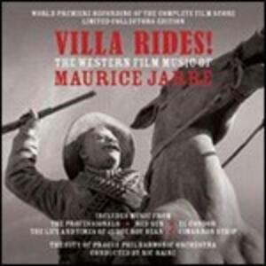 Villa Rides. The Western Music of Maurice Jarre (Colonna Sonora) - CD Audio di Maurice Jarre