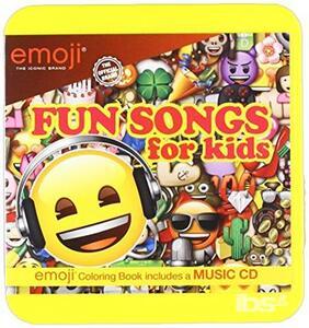 Emoji. Fun Songs for Kids - CD Audio