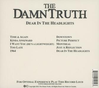 Dear in the Headlights - CD Audio di DamnTruth - 2