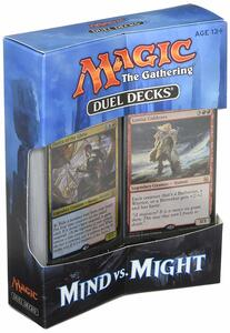 Magic the Gathering. Duel Decks. Mind vs Might Display 6 Decks . EN - 4