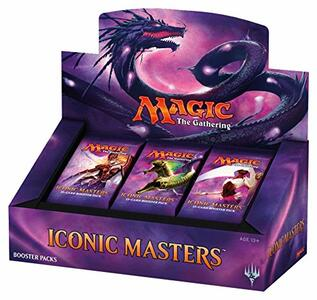 Magic the Gathering. Iconic Masters 2017. Booster Display 24 Packs . EN