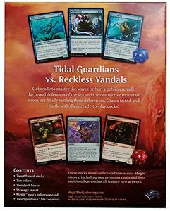 Magic the Gathering. Duel Decks. Merfolk vs Goblins Display 6 Decks . EN - 2