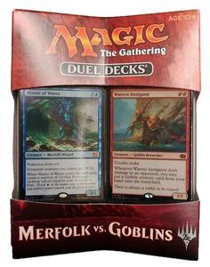 Magic the Gathering. Duel Decks. Merfolk vs Goblins Display 6 Decks . EN - 3