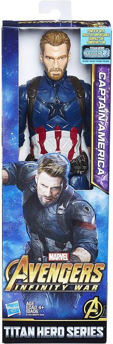 Avengers Infinity War Titan Hero Captain America Action Figure