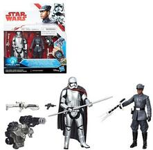 Star Wars: Last Jedi Finn Vs. Phasma 3 3/4 Figure