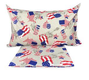 Copripiumino Singolo Bandiera Inglese.Copripiumino Bandiera Americana Flag Singolo 1 Piazza Cm 155x200