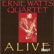 Alive - CD Audio di Ernie Watts