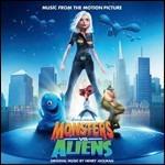 Cover CD Mostri contro alieni