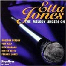 Melody Lingers on - CD Audio di Etta Jones