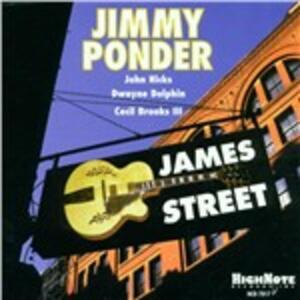 James Street - CD Audio di Jimmy Ponder