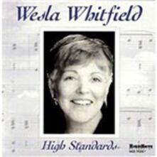 High Standards - CD Audio di Wesla Whitfield