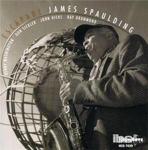 Escapade - CD Audio di James Spaulding