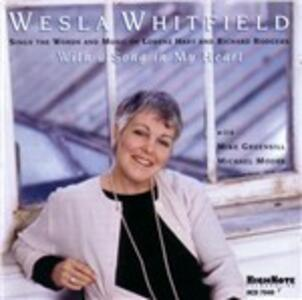 With a Song in My Heart - CD Audio di Wesla Whitfield