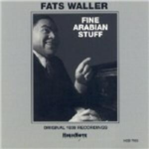 Fine Arabian Stuff - CD Audio di Fats Waller