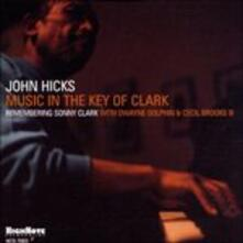 Music in the Key of Clark - CD Audio di John Hicks