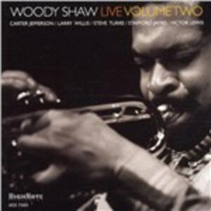 Live vol.2 - CD Audio di Woody Shaw