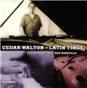 Latin Tinge - CD Audio di Cedar Walton