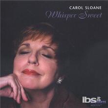 Whisper Sweet - CD Audio di Carol Sloane