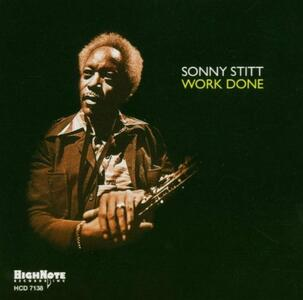 Work Done - CD Audio di Sonny Stitt