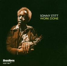 Work Done - CD Audio di Sonny Stitt